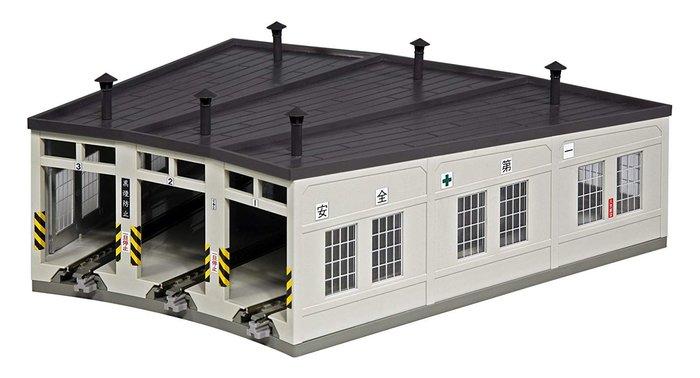 23-240 扇形機関庫 扇形車庫 機車房 KATO N比例 LUCI日本空運代購