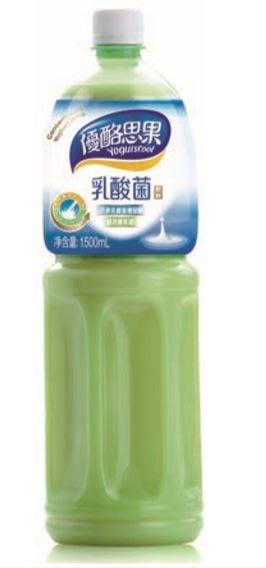 【優酪思果】乳酸菌飲料 1500ml /罐(有效期限:2020/05/30)【良鎂咖啡精品館】