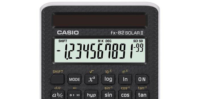 [ㄚ寶3C ] CASIO FX-82SOLARII 國家考試工程計算機.具有多種函數計算.太陽能供電