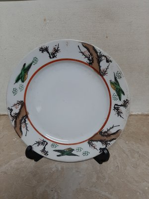 早期花鳥瓷盤