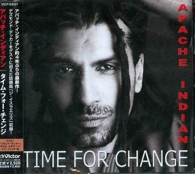 K - Apache Indian - Time for Change - 日版 CD+2BONUS - NEW