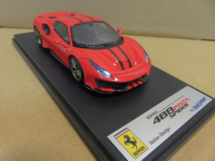 =Mr. MONK= Looksmart Ferrari 488 Pista Spider Hard Top 閉篷版
