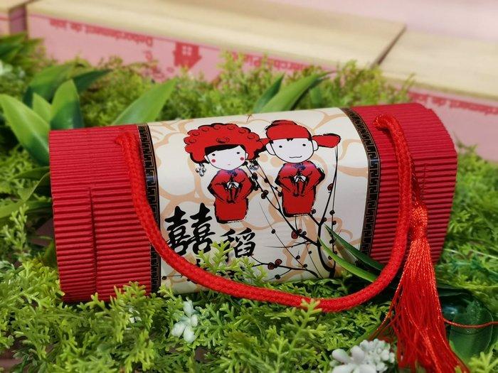 紅色流蘇喜米 伴手禮 進場禮 婚禮小物