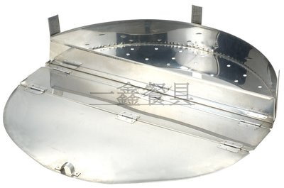 一鑫餐具【鹽酥雞蓋 尺6 (48cm) / B0144 】魯桶煮麵桶高湯桶麵桶麵切不銹鋼魯桶煮麵桶