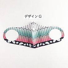 現貨免等日本爆款鬼滅之刃可水洗重複使用防塵防曬造型口罩