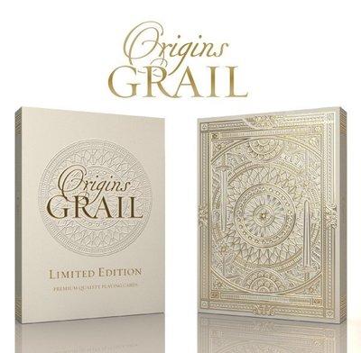 【USPCC撲克】撲克牌 NEW - Origins - Grail Limited Edition decks
