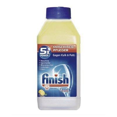 finish 洗碗機 除鈣清洗保養液 250ml 檸檬香