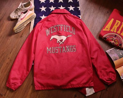 Vintage 90's Champion Coach Jacket 早期美製古著復古風衣教練夾克外套