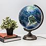[凱溢地球儀] 12寸立體衛星圖三段觸控式地球...