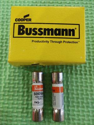 FNQ-6-1/4 正品美國BUSSMANN TRON延時熔斷器/保險絲 6.25A500V現貨 原廠公司貨 開發票