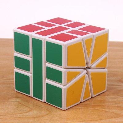 SQ1魔方 比賽專用三階異形魔方 SQ扇形魔方順滑 不規則魔方