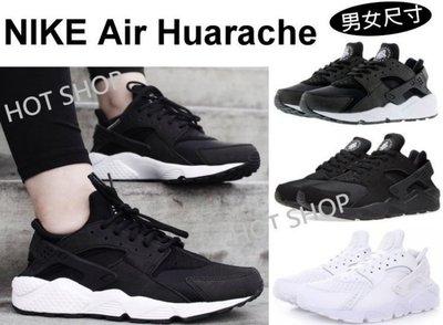 現貨 NIKE AIR HUARACHE RUN Triple Black 黑武士 運動鞋 黑魂 休閒鞋 慢跑鞋 情侶
