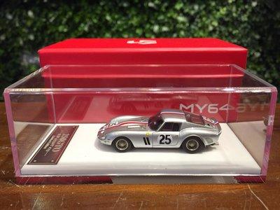 1/64 SCM Ferrari 250 GTO #25 LeMans 2nd 1963 SCM01G【MGM】
