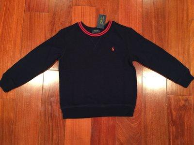 Polo Ralph 男童鋪棉長上衣 尺寸4. 6 歲