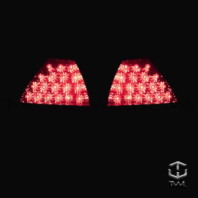 《※台灣之光※》全新HONDA本田 CIVIC K8 JC JM 98 96 00 97 99年3D晶鑽紅白LED尾燈組
