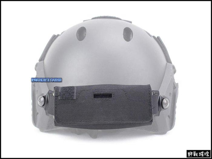 【野戰搖滾-生存遊戲】高品質戰術頭盔配重袋~含鐵塊【黑色】OPS頭盔配重包重量平衡頭盔包FAST傘兵盔特警勤務