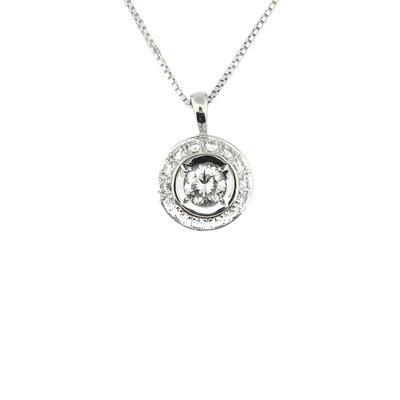 【JHT金宏總珠寶/GIA鑽石專賣】天然鑽石項鍊/材質:18K(JB46-A20)