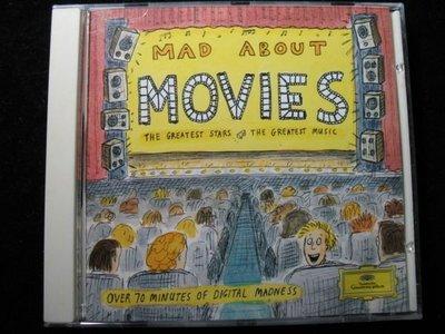 MAD ABOUT MOVIES - The Greatest Stars  - 1992年BMG 美國盤 - 碟片如新 - 351元起標