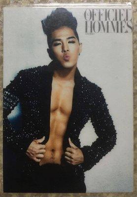 《全新》BIGBANG TAEYANG 護貝寫真卡