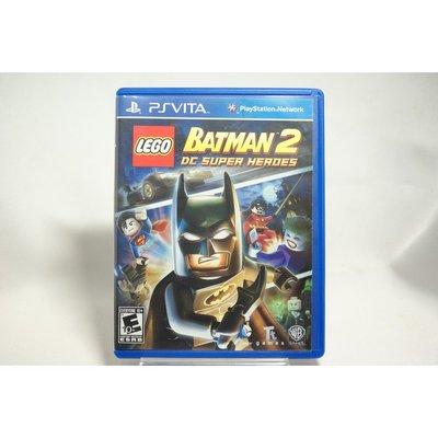 [耀西]二手 美版 SONY PSV 樂高蝙蝠俠 2:DC 超級英雄 LEGO BATMAN 2 含稅附發票