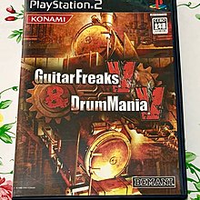 PS 2 超好玩 GUITAR FREAKS AND DRUM MANIA V GUITARFREAKS AND DRUMMANIA V
