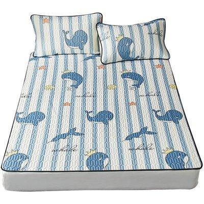 床單 乳膠冰絲床單單件涼感夏季單人宿舍床單三件套雙人床被單炕單夏天