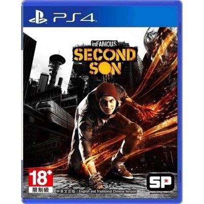 窩美 PS4 遊戲 無名英雄3 次子 inFamous Second Son 中文