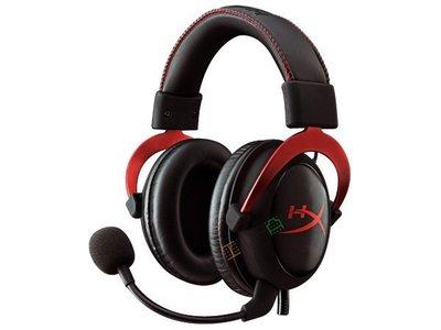 *硬派精璽*HyperX CLOUD II耳機麥克風|紅 000305000007