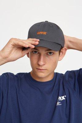 慧眼Z │ Affix 電繡Logo字體棒球帽 Human Made Noah Pilgrim AMI 老帽 雙色