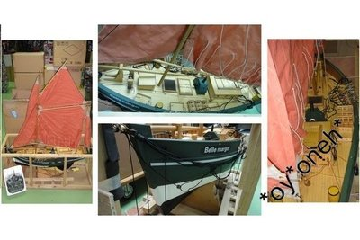 CHARMING R/C SAILBOAT BELLE MARGOT 無線電搖控帆船 36.310MHZ 4CHANNELS 90CM (C692#TT50)