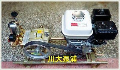 【川大泵浦】鑽石牌 TS-22 附HONDA 5.5HP GX160引擎 噴霧機/洗車機/ 動力噴霧送水兼用機 TS22