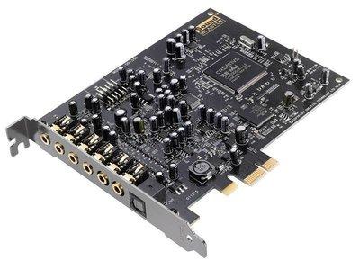 =* 邁克電腦 *=CREATIVE 創新未來 Audigy Rx PCI-e 7.1聲道音效卡 雙Mic輸入