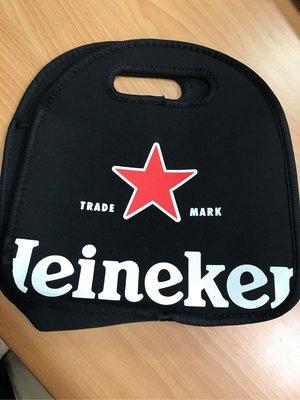全新現貨全新Heineken 黑色手提保冷/溫袋