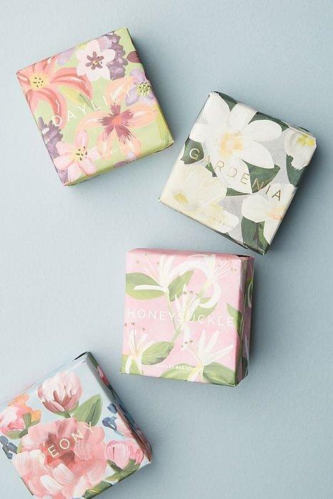 美國 Mistral 手工香皂  Floral Bar Soap 梔子花 荔枝玫瑰 花香皂 200g 現貨 送禮 香氛皂