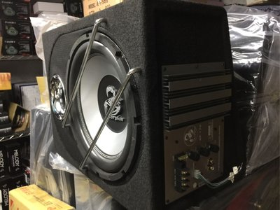 震撼立汽車音響 毒蠍12吋 主動式400W重低音喇叭 含主動擴大器