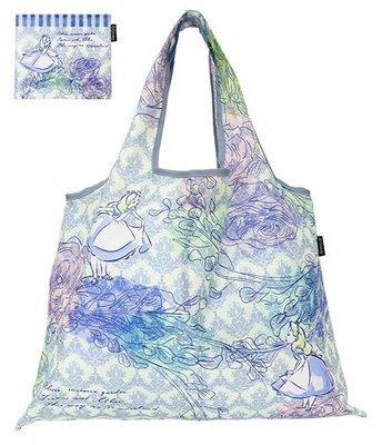 愛麗絲花園~日本Prairie dog迪士尼公主2Way 摺疊環保購物袋(輕巧大容量) ♡ 麻衣小姐 ♡