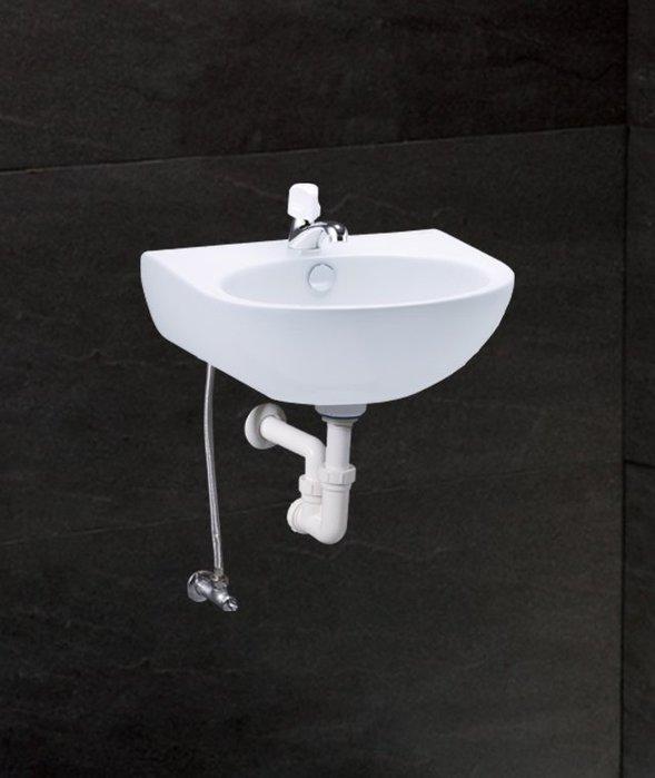 《101衛浴精品》凱撒 CAESAR 奈米抗污 壁掛式 單孔 面盆 L2152S【免運費 可貨到付款】