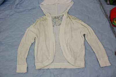 【莉莉小舖】二手Abercrombie & Fitch A&F AF麋鹿長袖針織小外套,(女XS)(GS02) 新北市