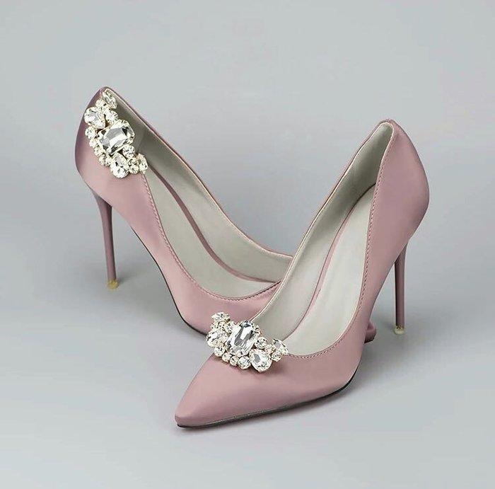 DAFA 水晶鞋拆卸式鞋扣/鞋飾/新娘鞋/晚宴鞋/晚宴鞋 婚禮 婚禮小物 現貨~~~
