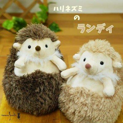 ˙TOMATO生活雜鋪˙日本進口雜貨人氣療癒系刺蝟躺姿態造型掌上型絨毛布偶(預購)