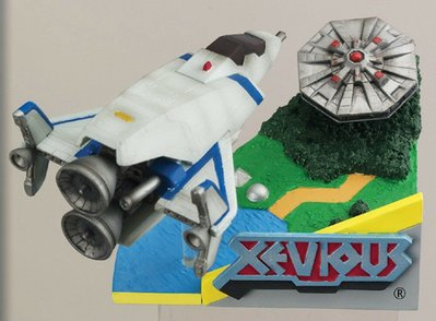 全新 MegaHouse Namco Classics Collection Diorama No 2 Xevious 經典情景 盒蛋食玩
