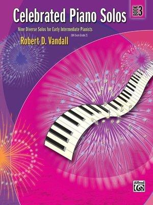 【599免運費】Celebrated Piano Solos, Book 3 Alfred 00-881270