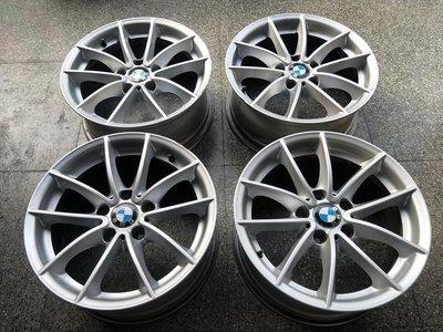 BMW F25 X3 原廠304 17吋鋁圈.E36 E46 E90 F30 F31..