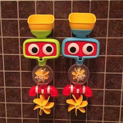 浴室轉轉樂 洗澡水車轉轉樂 噴水轉轉水車 花灑 流水 噴水玩具 浴缸吸盤玩具 兒童戲水玩具 寶寶洗澡玩具