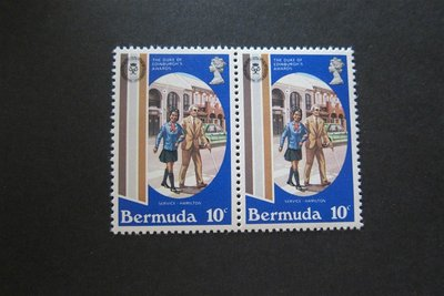 【雲品】百慕大Bermuda Sc 415 Disable Set MNH 庫號#50729