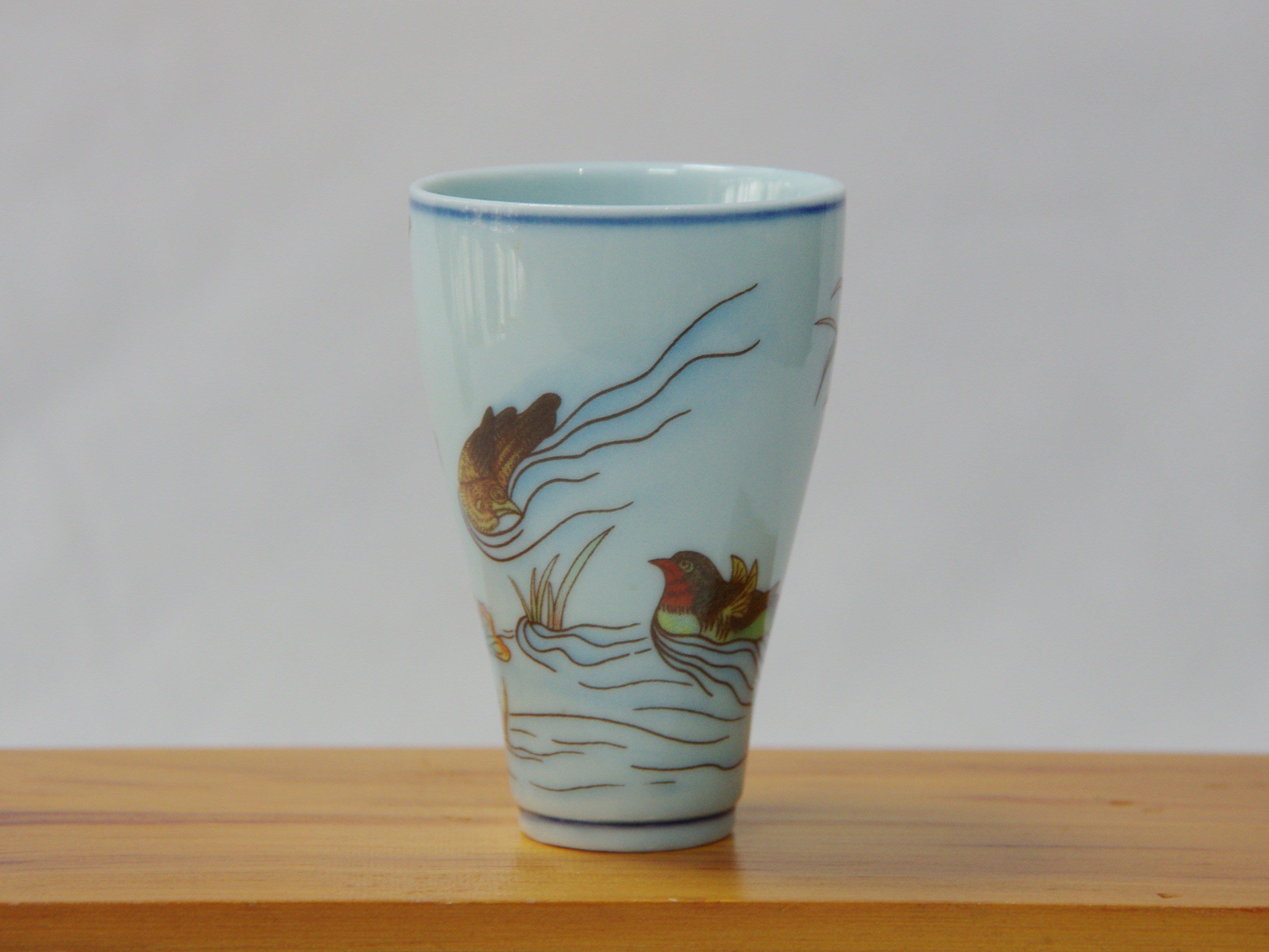 早期中國瓷器 鴛鴦聞香杯