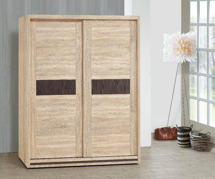 【南洋風休閒傢俱】精選時尚衣櫥 衣櫃 置物櫃 拉門櫃 造型櫃設計櫃-原切橡木5*7尺衣櫥櫃 CY08-57