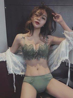 花邊蕾絲美胸美背內衣