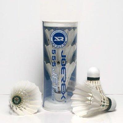 Joerex 白色鴨毛訓練用羽毛球 3個裝 badminton