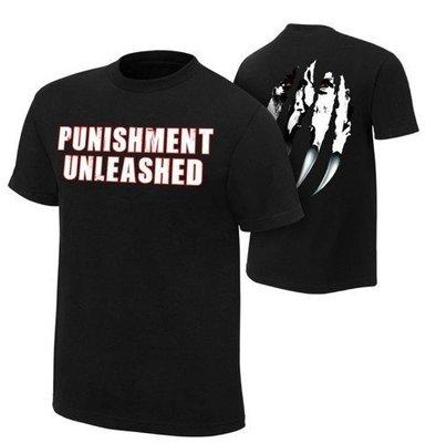 ☆阿Su倉庫☆WWE Batista Punishment Unleashed T-Shirt 野獸巨星大巴經典復刻款